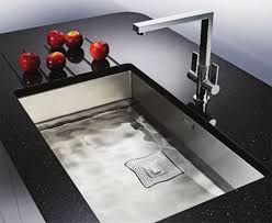 pretty square modern undermount sink design 1076