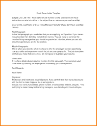 email cover letter email cover letter subject line cover letter template design