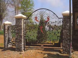 ornamental wrought iron gates rought iron railings fencing