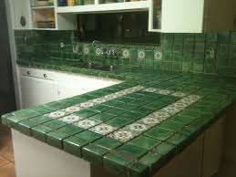 Mexican Tile Backsplash Kitchen Photo Green Kitchen Tiles Green Glass Tiles For Kitchen
