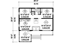 country style house plan 2 beds 1 00 baths 600 sq ft plan 25 4357