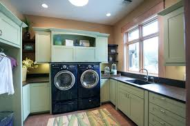 design ideas nice laundry room cabinets with drawer and open
