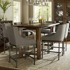 bring this counter height dining room table into your home for a