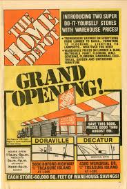 home depot black friday crowd size home depot history the first home depot flyer archives pinterest