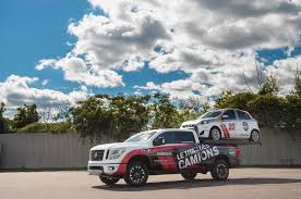 nissan canada nissan canada mixes big and little with titan hauler xd photo