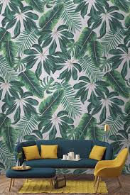 interior wallpaper for home best 25 tropical wallpaper ideas on palm wallpaper