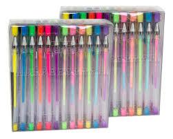 amazon com lolliz 96 gel pen premium set 2 pack of 48 each