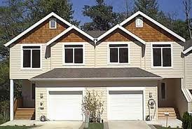 house plans with walk out basements duplex house plan with walkout basement 38010lb architectural