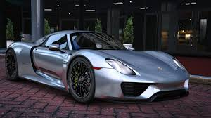 porsche 918 spyder black 2015 porsche 918 spyder u0026 weissach kit add on real spoiler