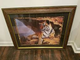 Home Interiors And Gifts Framed Art Home Interior U0026 Gifts Tiger Picture In Saint Anne Letgo