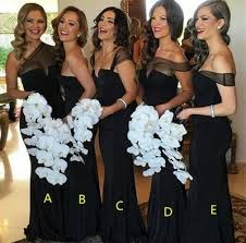 black bridesmaid dresses best 25 black bridesmaid dresses ideas on black black
