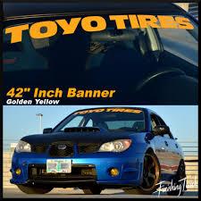 mitsubishi sticker design toyo tires windshield banner sticker decal vinyl graphic