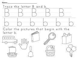 free worksheet to teach the letter bb reading resources free