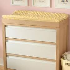 natural wood changing table the land of nod baby changers baby natural wood changing table in