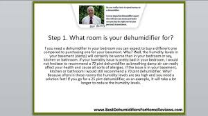 choose the best dehumidifier for your needs in 7 simple steps