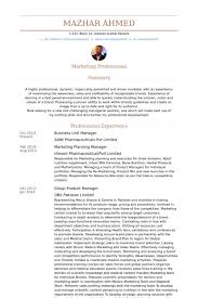 Product Manager Resume Sample by Business Unit Manager Resume Samples Visualcv Resume Samples