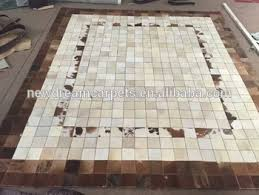 Cowhide Area Rugs Wholesale Home Goods Living Room Design Vintage Style Hand Made