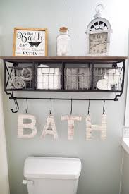 themed bathroom wall decor best choice of 25 bathroom wall decor ideas on half in
