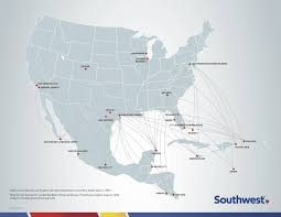 Delta Route Map by The Southwest Effect And International Travel Farecompare