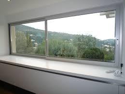 fenetre cuisine coulissante fenetre coulissante sur mesure fenêtres aluminium coulissantes