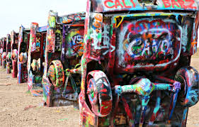 Texas travel merry images Be a graffiti artist at cadillac ranch oh the places we travel png