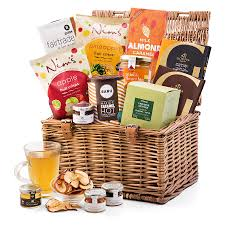 gift basket delivery breakfast gift in picnic basket delivery in sweden by giftsforeurope