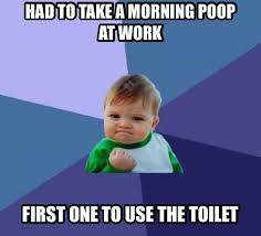 Janitor Meme - the janitor cleans the bathroom each night meme guy