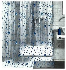 Bathroom Plastic Curtains Bathroom Vine Vinyl Shower Curtains Bathroom Hookless