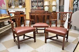 late 18th early 19th century english set of 12 mahogany dining