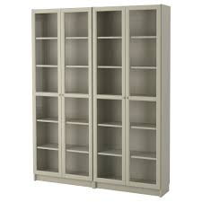 Glass Curio Cabinet Costco Curio Cabinet Liatorp Glass Door Cabinet Grey 0242757 Pe382033