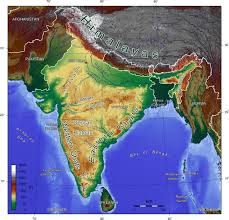 World Map With Mountain Ranges by Ramana Study Point Major Mountain Ranges In India