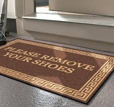 Doormat Leave Asking Guests To Remove Their Shoes What Do You Think