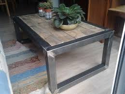 Wood And Metal Coffee Table Best 25 Industrial Coffee Tables Ideas On Pinterest Industrial