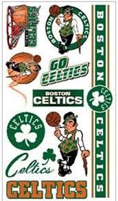 boston celtics shaped ornament set