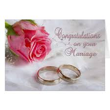 congratulations marriage card congratulations wedding marriage card zazzle