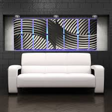 68 Best Wall Silhouettes Images by Metal Wall Art With Infused Color Changing Led Lights Dv8 Studio
