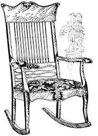 Old Man In Rocking Chair Old Man On Rocking Chair Clipart Image Clip Art Library