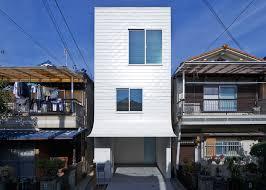 gandare house a narrow japanese home by ninkipen