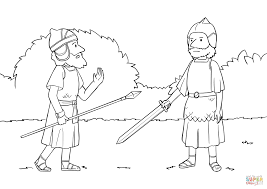 joshua meets commander of the army of the lord coloring page