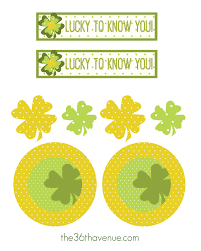 st patrick u0027s day free printable and gift idea the 36th avenue