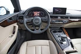 audi dashboard a5 audi a5 2018 motor trend car of the year contender motor trend