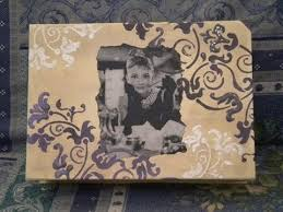 tutorial decoupage su legno tutorial decoupage su scatola in avana con stencil sfumato youtube