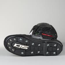 italian motocross boots sidi crossfire 2 srs motocross boots green fluorescent black now