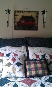 Primitive Country Bedroom Ideas 241 Best Country Quilts And Home Made Things Images On Pinterest