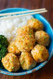 Main Dish Chicken Recipes - chicken meatballs