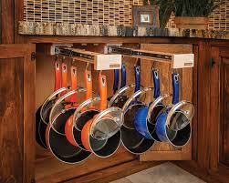 Kitchen Storage Ideas For Pots And Pans by Hanging Pots In Kitchen Kitchen Storage For Pots And Pans Gramp Us