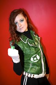 punk green lantern cosplay looks like a rule63 guy gardner