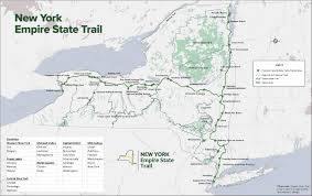 First Landing State Park Trail Map by Outdoors Empire State Trail Details Still Murky Times Union