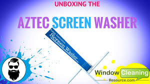 Window Cleaning Austin Tx Unboxing The Aztec Screen Washer Youtube