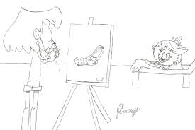 draw room draw me like one of your loud girls by j room on deviantart